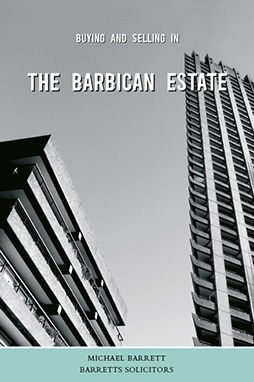Book cover for 'Buying and Selling in the Barbican Estate' by Michael Barrett.