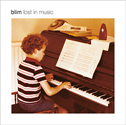 CD sleeve for 'Lost In Music' by Blim.