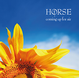CD sleeve for 'Coming Up For Air' by Horse.